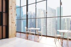 Loft restaurant interior Royalty Free Stock Photography