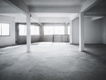 Loft space Building Interior background Royalty Free Stock Image