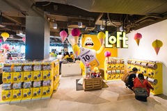 LoFt store in Siam Center shopping mall, Bangkok Royalty Free Stock Image