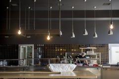 Loft stylowej wiszącej drucik lampowej żarówki dekoraci rocznika starego mod Zdjęcie Stock