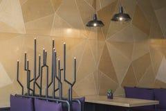 Loft stylowej wiszącej drucik lampowej żarówki dekoraci rocznika starego mod Zdjęcia Royalty Free