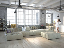 Loft Royalty Free Stock Photo