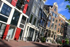 Lofts in Amsterdam, Netherlands Stock Photos