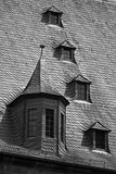 lofttaket kritiserar fönster Arkivfoton