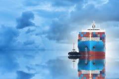 logística e transporte Fotografia de Stock