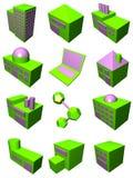 Logística Industr de la cadena de suministro Imagen de archivo libre de regalías
