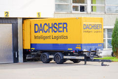 Logística inteligente de Dachser Fotos de archivo