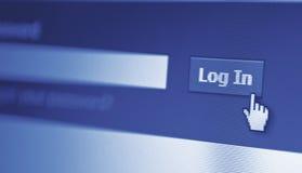 Log in Stock Photos