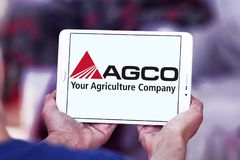 AGCO agricultural equipment manufacturer logo Royalty Free Stock Images