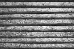 Log background. In grey tones stock photography