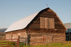 Log Barn Royalty Free Stock Photography