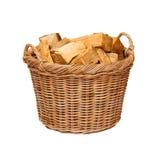 Log Basket Royalty Free Stock Photography