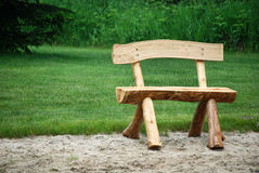 Free Log Bench Royalty Free Stock Photo - 5358085