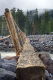 Log Bridge Stock Photos