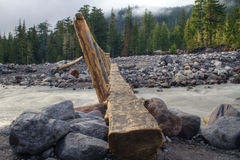 Log Bridge Royalty Free Stock Photos