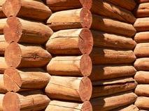 Log Building. In Banff township, Banff National Park, Alberta, Canada Royalty Free Stock Photo