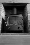 Log burner B Stock Image