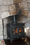 Log burner Stock Photos