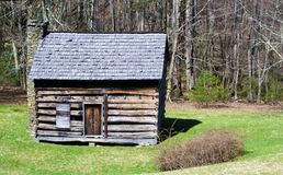 Log Cabin – Blue Ridge Parkway Royalty Free Stock Photography