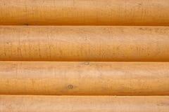 Log cabin. Wood siding / wall horizontal background Royalty Free Stock Photos