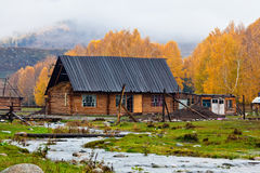 A log cabin Royalty Free Stock Image