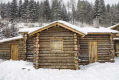 Log cabin Royalty Free Stock Image