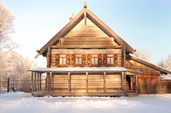 Log cabin Stock Photos