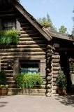 Log cabin Royalty Free Stock Photos