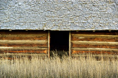 Log cabin abstract Royalty Free Stock Image