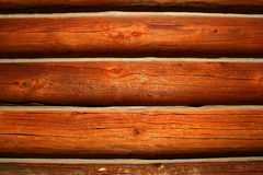 Log Cabin Background. Logs from cabin used as background,rustic Royalty Free Stock Image