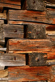 Log Cabin Background 6. Logs from cabin used as background,rustic Royalty Free Stock Image