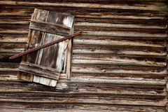 Log Cabin Background royalty free stock photos