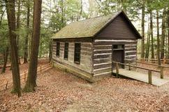 Log Cabin Church Royalty Free Stock Image