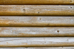 Log Cabin Detail Royalty Free Stock Photography