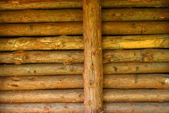 Log Cabin Detail Royalty Free Stock Image