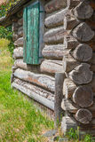 Log Cabin Detail Stock Image