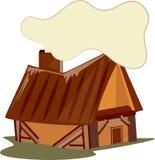 Log Cabin Stock Photo
