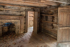 Inside A Log Cabin Stock Photo Image 49548451
