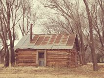 Log Cabin royalty free stock photography