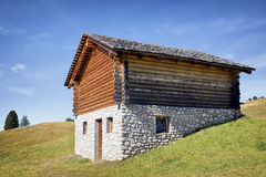 Log cabin Royalty Free Stock Images