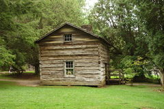 A log cabin from pioneer days Royalty Free Stock Photo