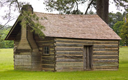 Log Cabin Schoolhouse Royalty Free Stock Photo