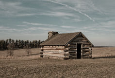 Log Cabin Valley Forge Royalty Free Stock Images
