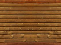 Log cabin wall Royalty Free Stock Photos