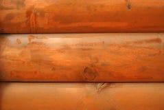 Log Cabin Wall Stock Photos
