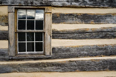 Log Cabin Window Royalty Free Stock Photos