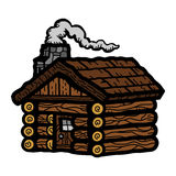Log Cabin Wooden Cottage Royalty Free Stock Images