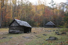 Log Cabins Stock Images