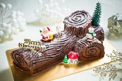 Log Cake Royalty Free Stock Photography