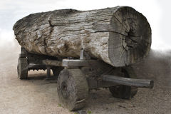 Log Carriage Royalty Free Stock Photography